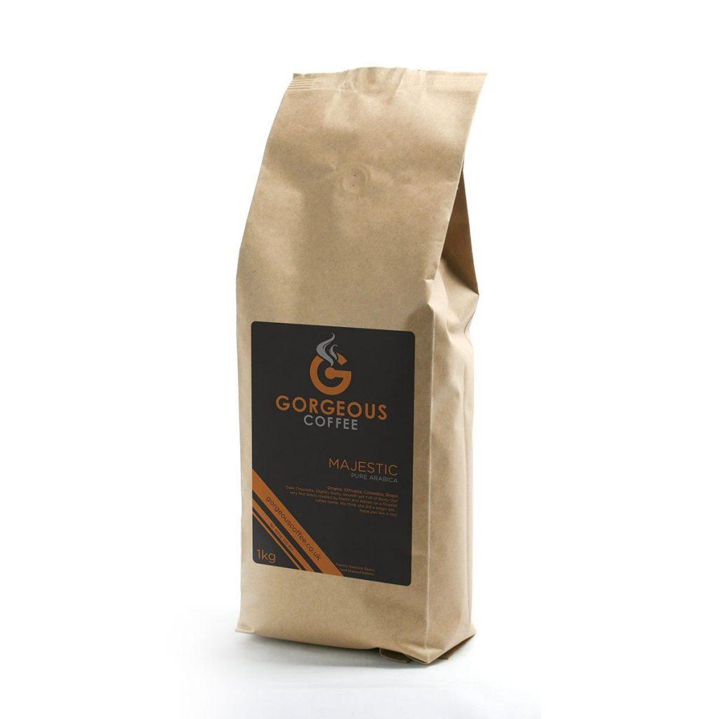 Gorgeous Coffee Majestic Blend - 1kg