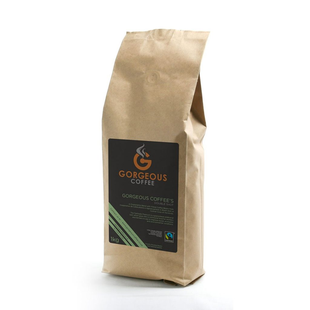 Gorgeous Coffee Double Shot Blend - 1kg
